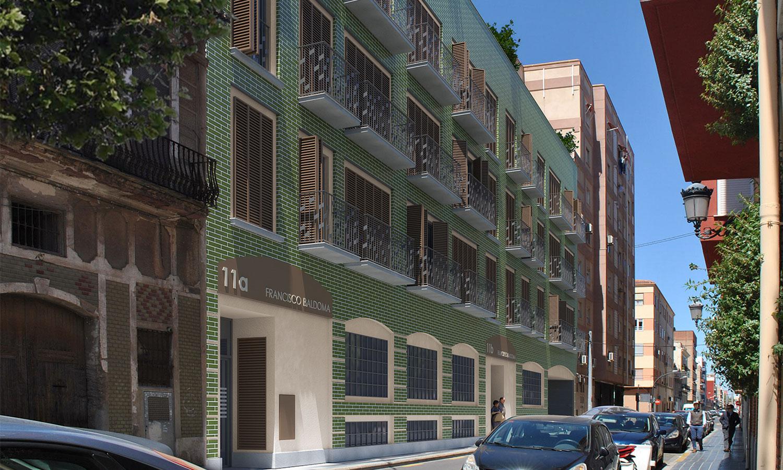 Residencial Atarazanas fachada