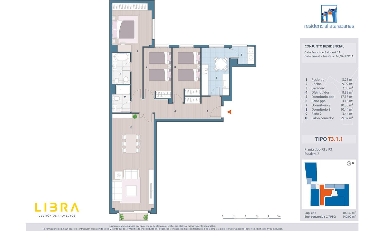 Residencial Atarazanas plano