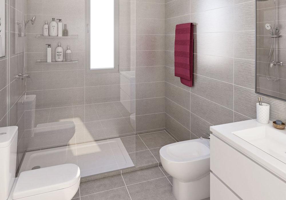 Baño 2 Andrómeda Residencial
