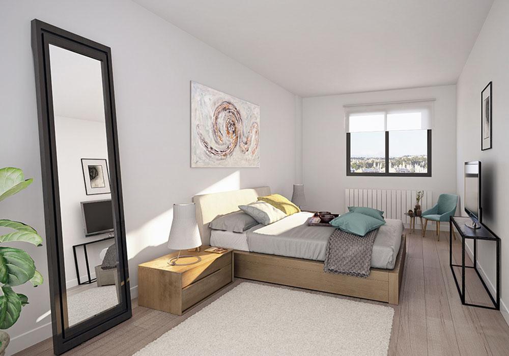 Dormitorio Andrómeda Residencial