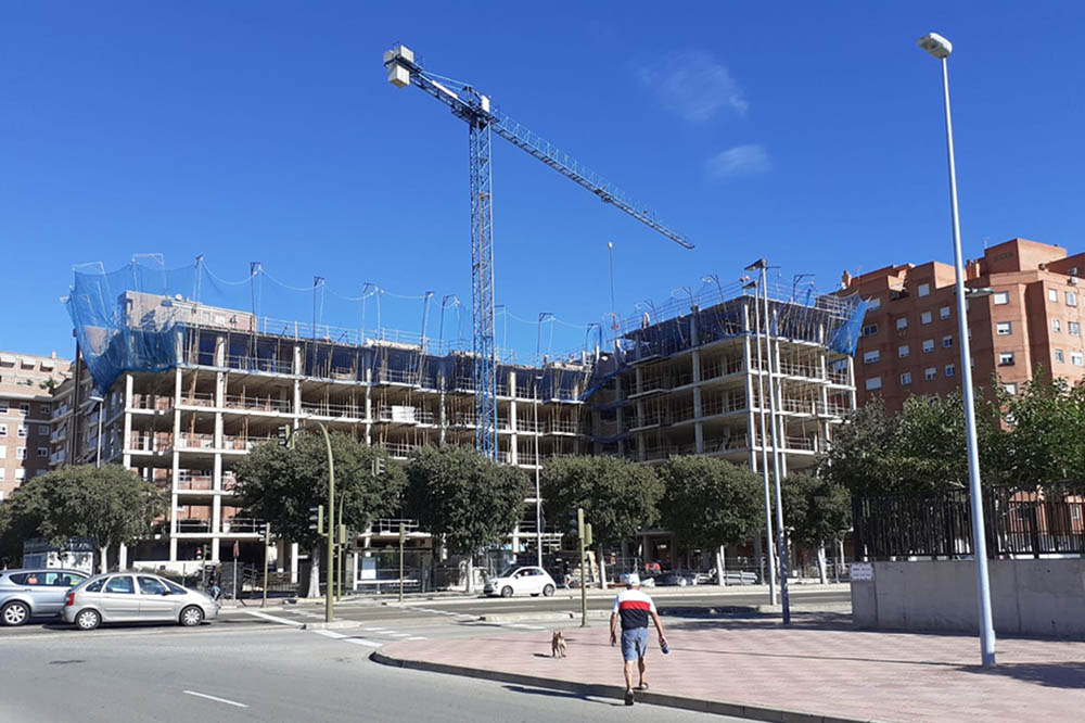Obras residencial Casalduch